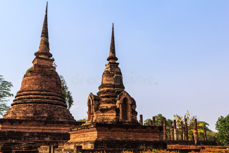Sukothai temple royalty free stock photos