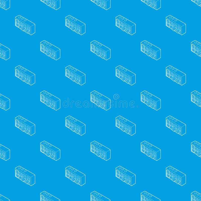 420 sul blu senza cuciture di vibrazione dell'orologio di vettore analogico del modello royalty illustrazione gratis