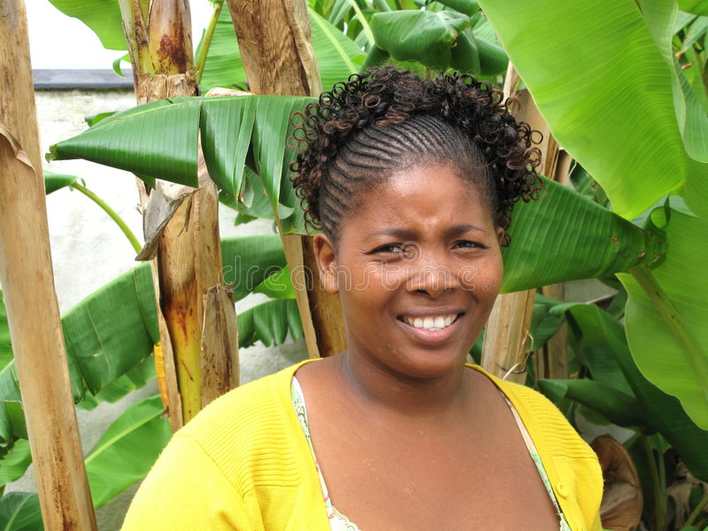 Sul bonito - mulher africana imagens de stock royalty free