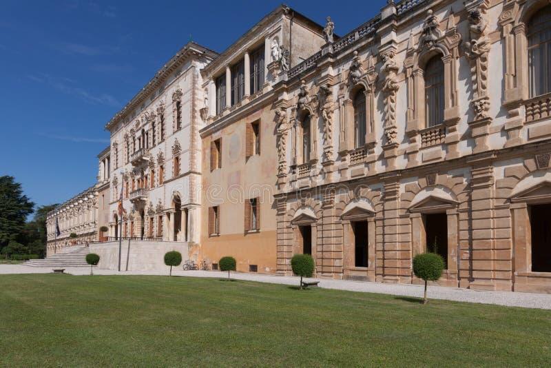 Sul Brenta Piazzola (Padova, венето, Италия), вилла Contarini, высокое стоковые изображения rf