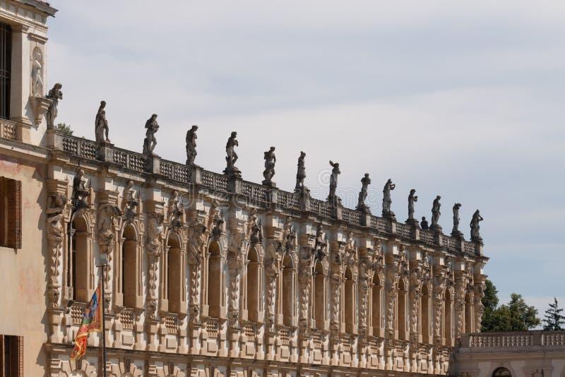 Sul Brenta Piazzola (Padova, венето, Италия), вилла Contarini, высокое стоковое фото rf