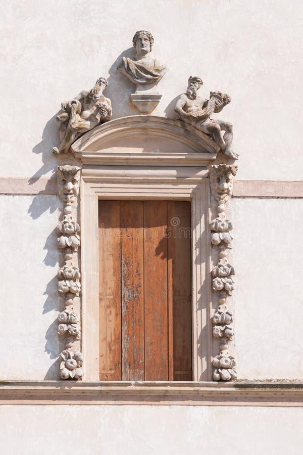 Sul Brenta Piazzola (Padova, венето, Италия), вилла Contarini, высокое стоковое фото