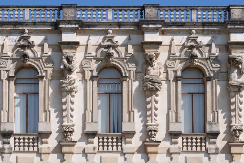 Sul Brenta Piazzola (Padova, венето, Италия), вилла Contarini, высокое стоковая фотография