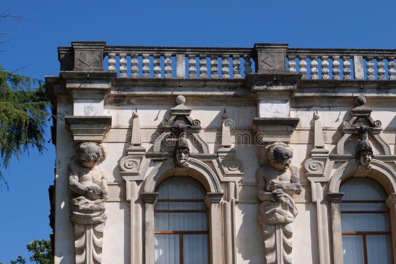 Sul Brenta Piazzola (Padova, венето, Италия), вилла Contarini, высокое стоковые изображения