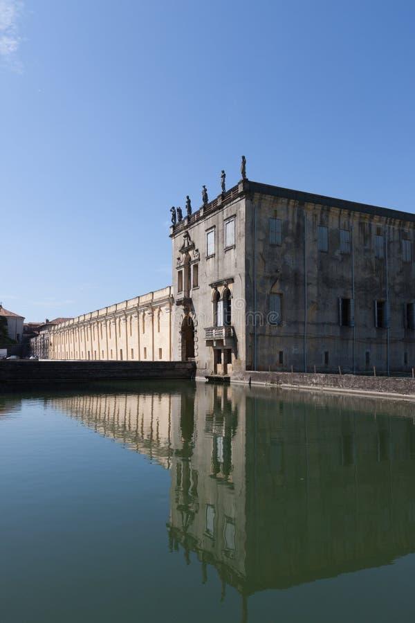 Sul Brenta Piazzola (Padova, венето, Италия), вилла Contarini, высокое стоковые фотографии rf