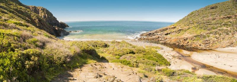 Sul da Austrália da península de Fleurieu fotografia de stock
