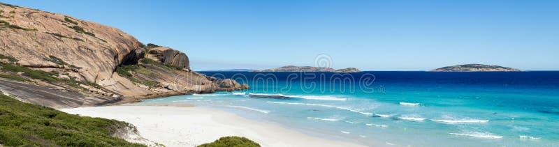 Sul da Austrália da praia de Esperance imagem de stock