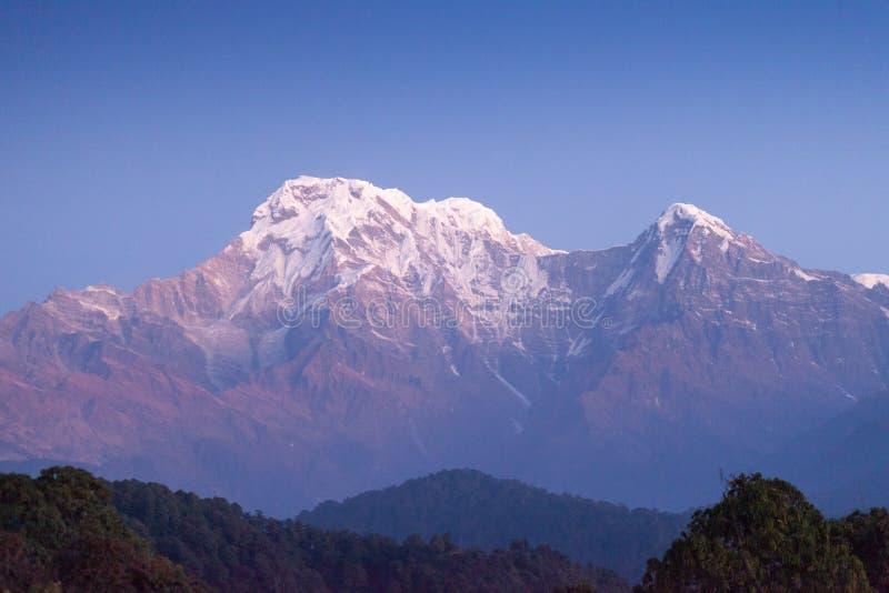 Sul de Hiunchuli e de Annapurna imagem de stock royalty free