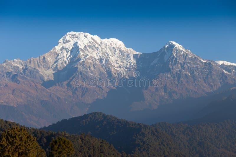 Sul de Hiunchuli e de Annapurna imagens de stock