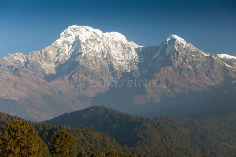 Sul de Hiunchuli e de Annapurna fotografia de stock