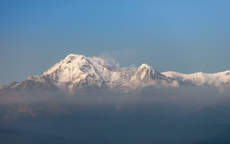 Sul de Hiunchuli e de Annapurna imagem de stock