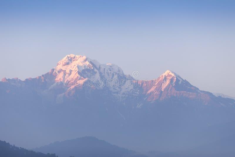 Sul de Hiunchuli e de Annapurna fotos de stock