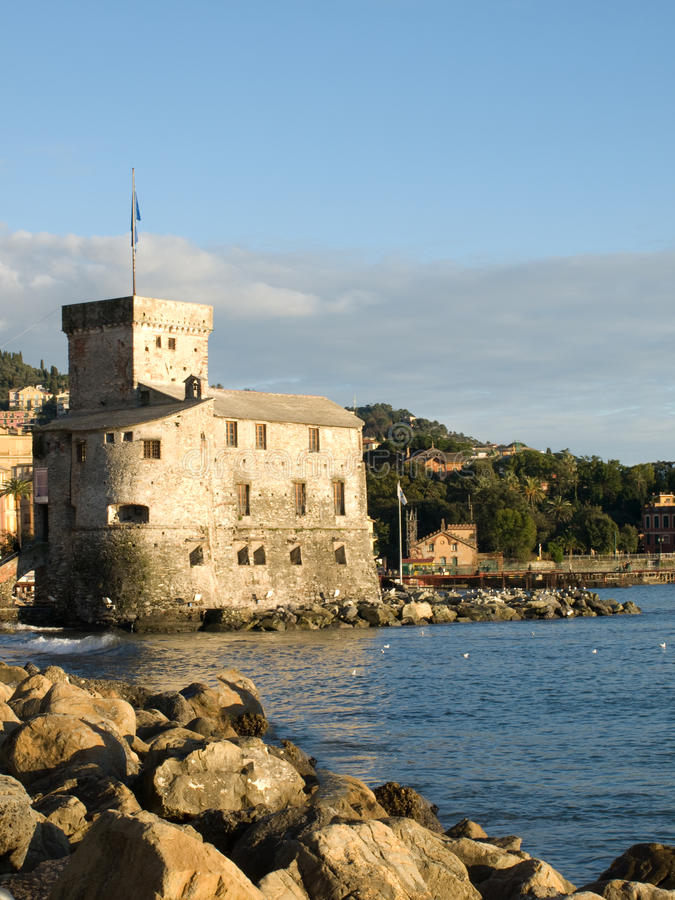 sul för castelloil-mare royaltyfri foto
