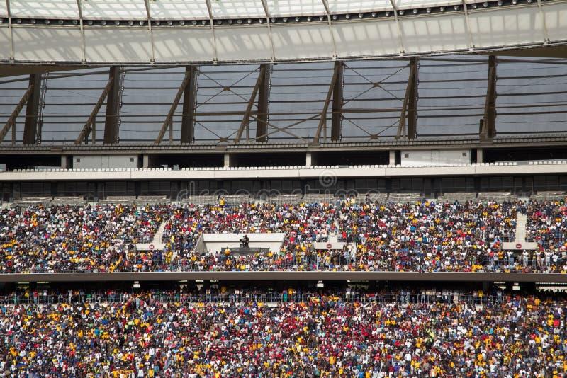 Sul - fan de futebol africanos fotos de stock