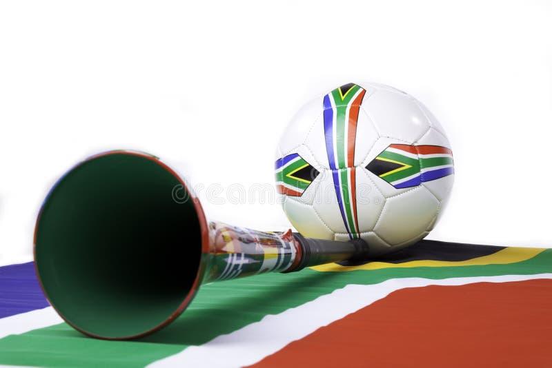 Sul - futebol africano foto de stock royalty free