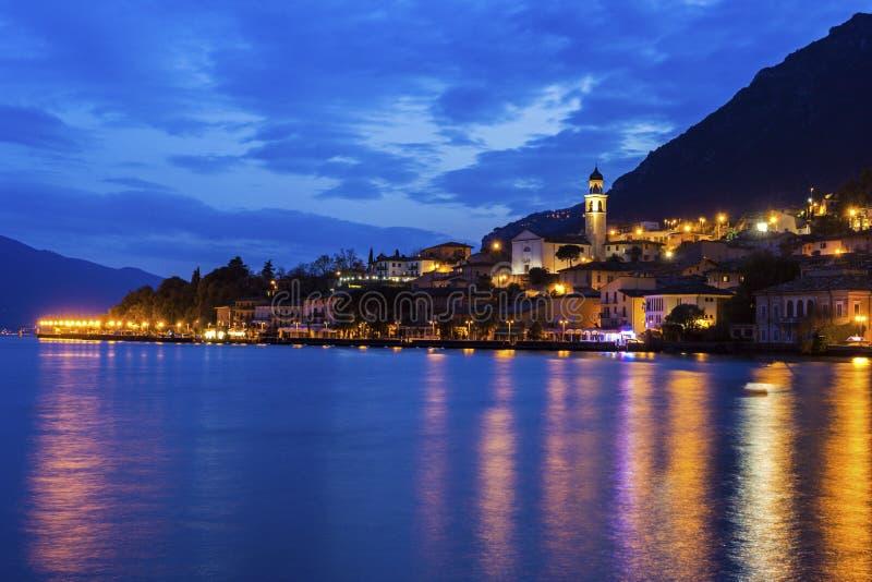 Sul Garda de Limone em Itália fotos de stock royalty free