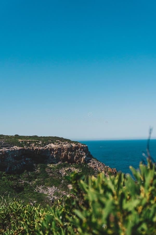 Sul - litoral africano imagem de stock