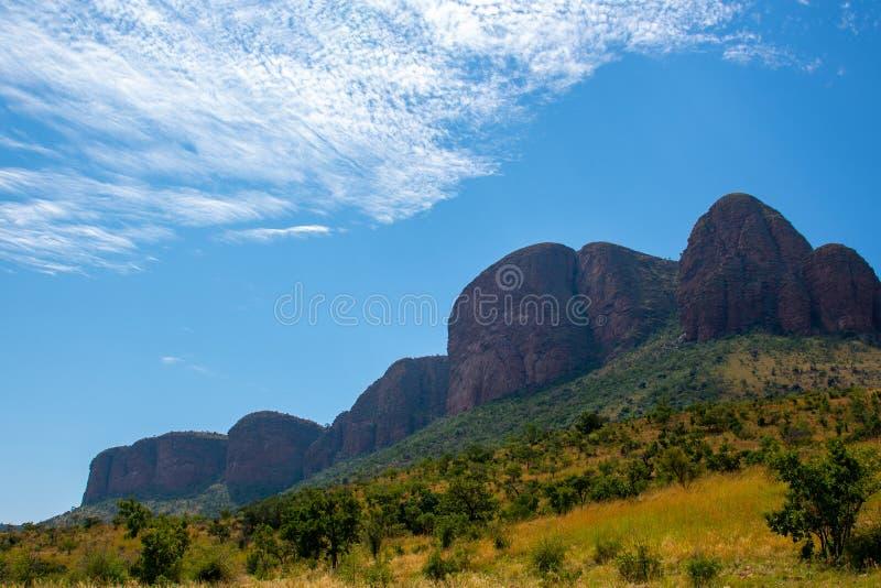 Sul magnífico - cordilheira africana fotos de stock