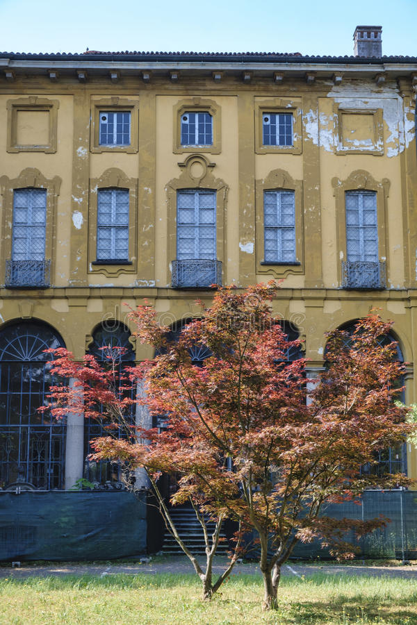 Sul Naviglio Milan, Italie de Cernusco : Villa Alari photos stock