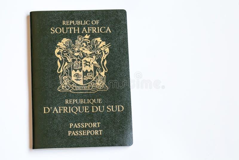 Sul - passaporte africano fotografia de stock