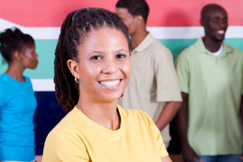 Sul - povos africanos imagens de stock