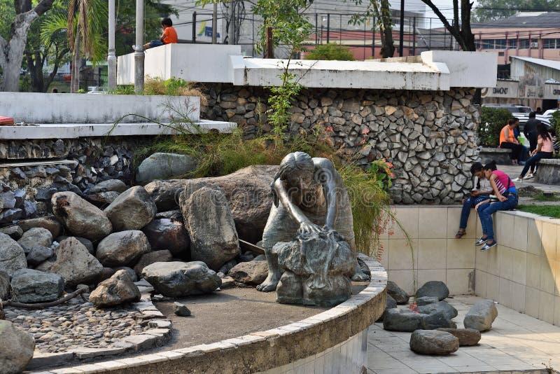 Sula de San Pedro honduras fotografia de stock