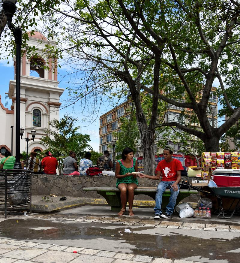 Sula de San Pedro honduras imagem de stock royalty free