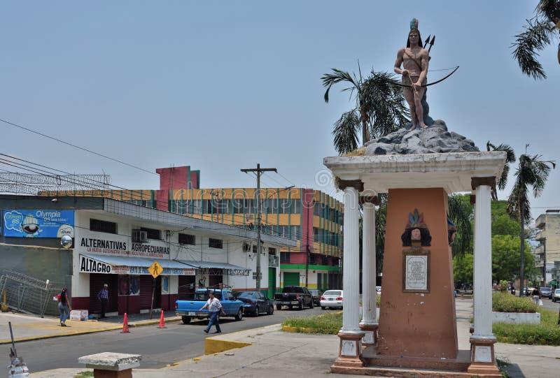 Sula de San Pedro honduras fotografía de archivo