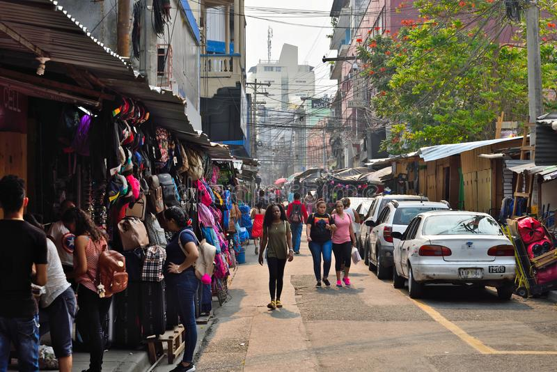 Sula de San Pedro honduras foto de archivo libre de regalías