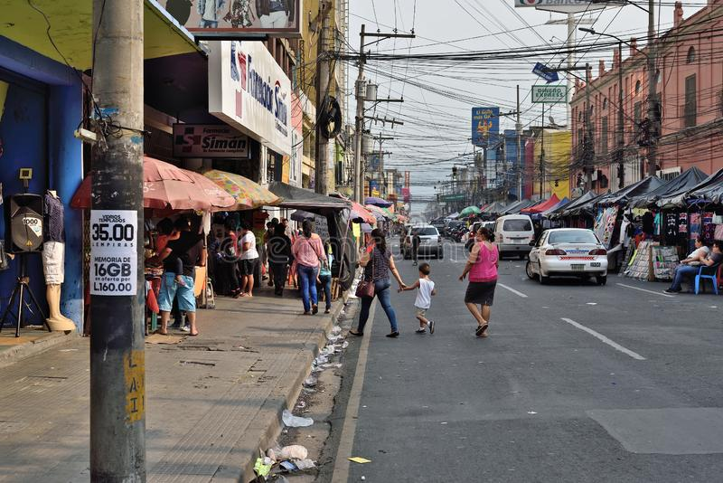 Sula del San Pedro l'honduras immagini stock libere da diritti