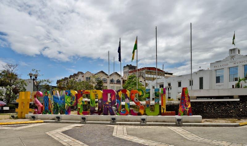 Sula del San Pedro l'honduras immagine stock libera da diritti