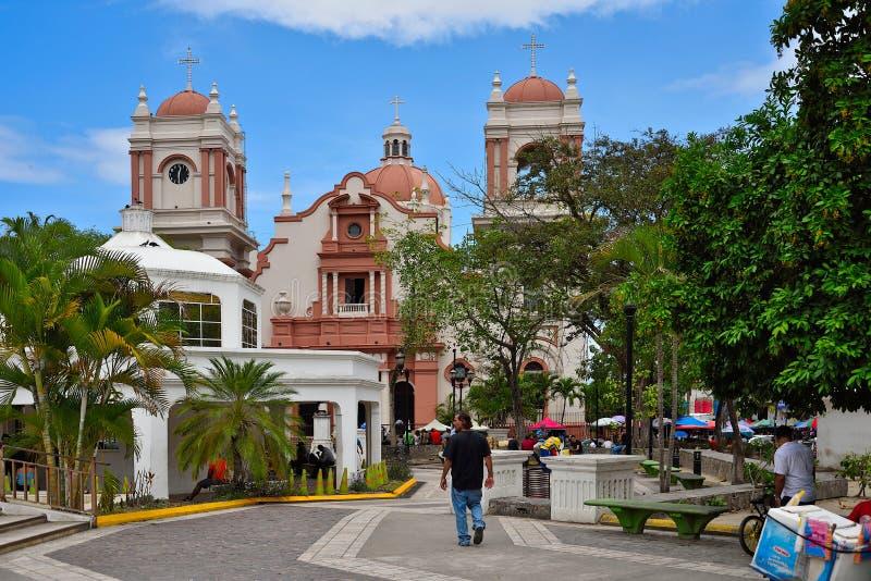 sula pedro san Гондурас стоковая фотография rf