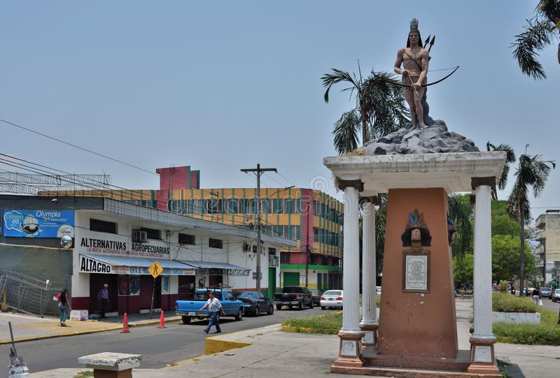 sula pedro san Гондурас стоковая фотография