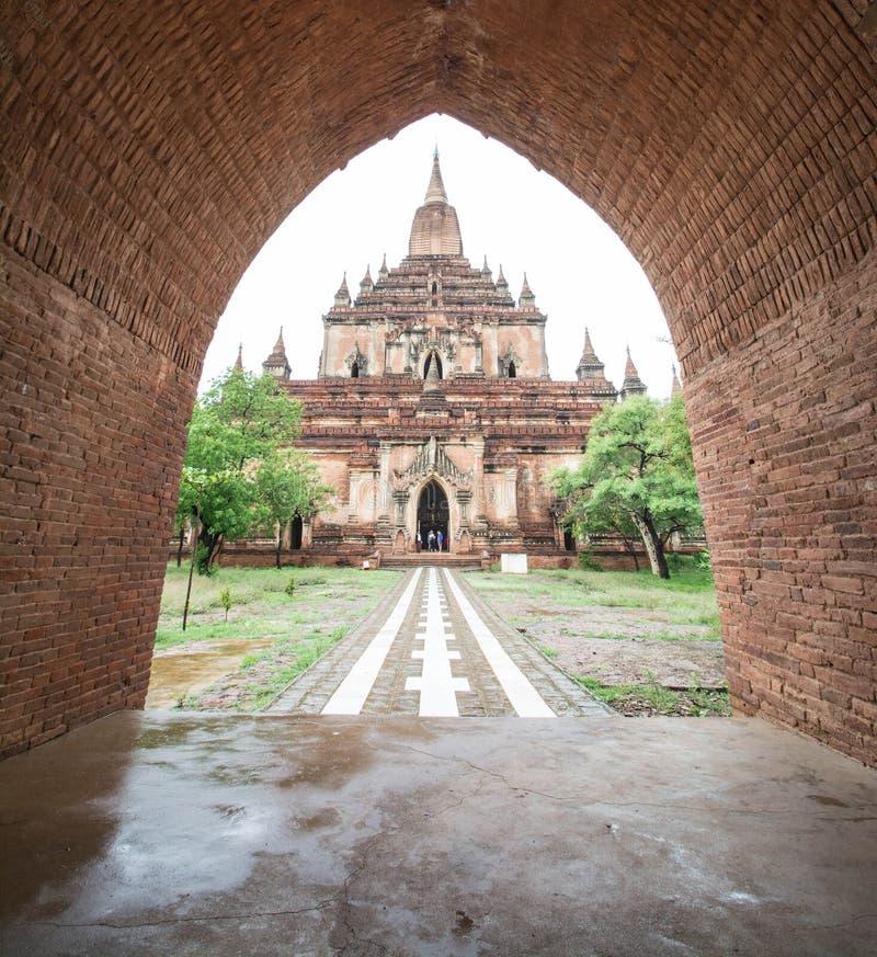 Sulamani świątynia w Starym Bagan, Myanmar (pagoda) (poganin) (Birma) fotografia royalty free
