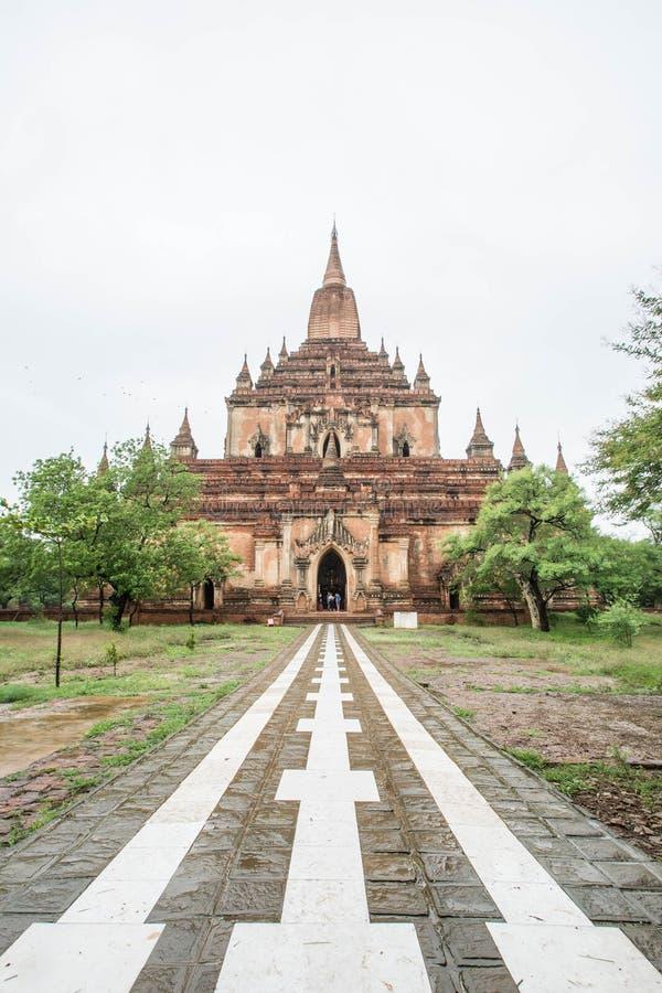 Sulamani świątynia w Starym Bagan, Myanmar (pagoda) (poganin) (Birma) obrazy stock