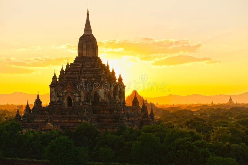 Sulamani Paya, Bagan, Myanmar. fotografering för bildbyråer