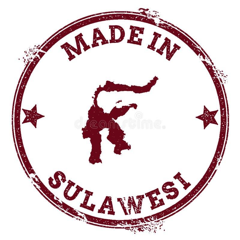 Sulawesi foka ilustracja wektor