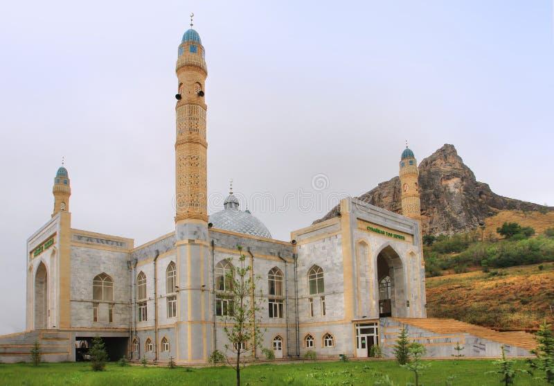 Sulayman мечеть слишком в городе Osh, Кыргызстане стоковая фотография rf