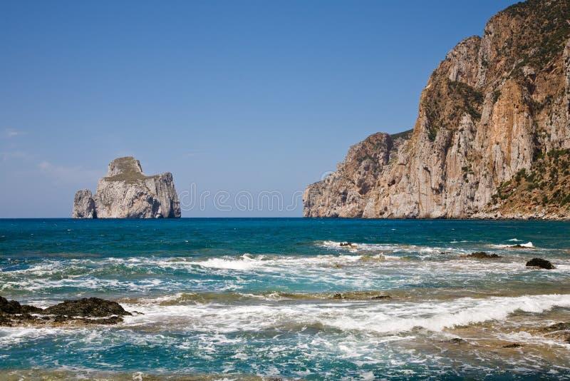 sulcis της Ιταλίας Σαρδηνία στοκ φωτογραφίες