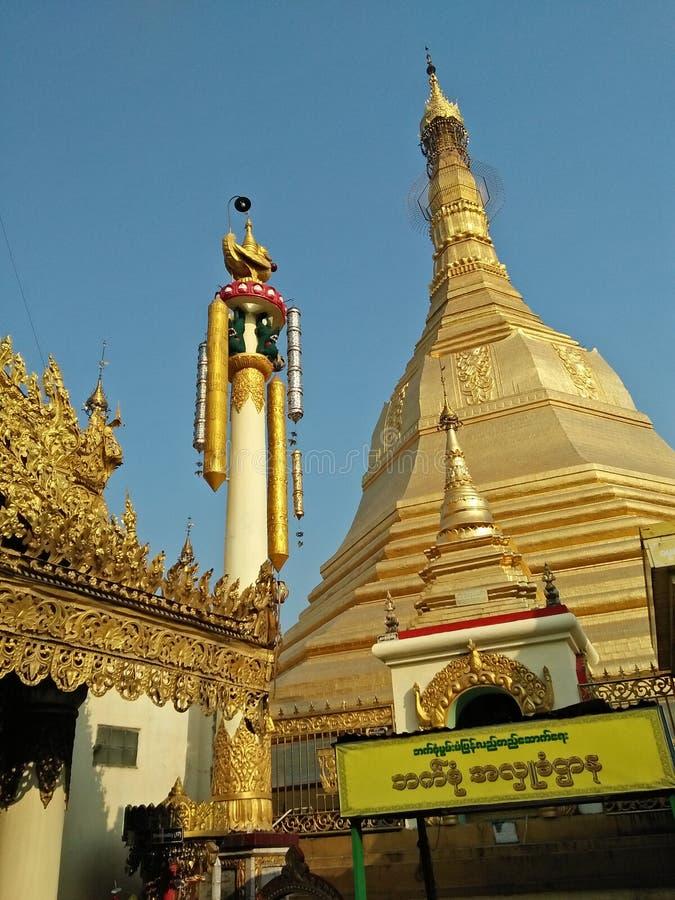 Sule Pagoda fotos de stock royalty free