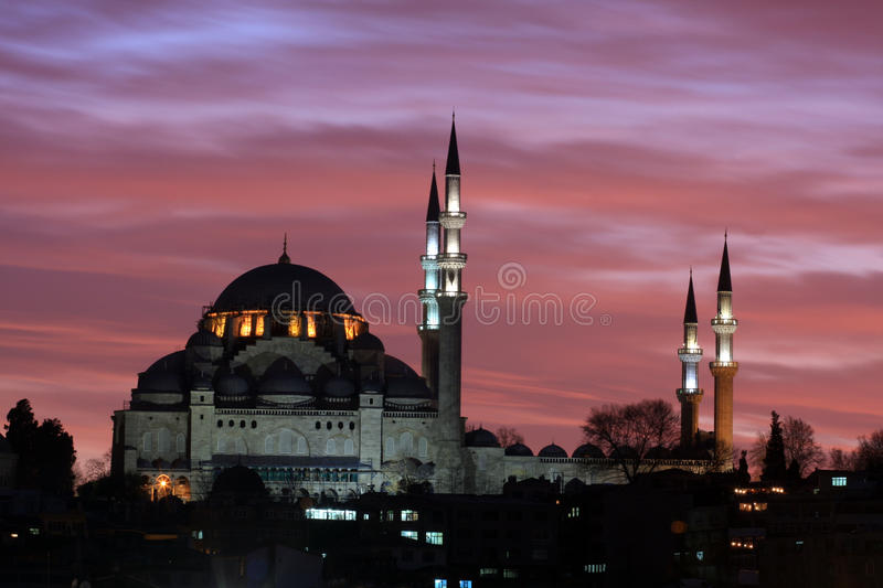 Suleiman Mosque Royalty Free Stock Images