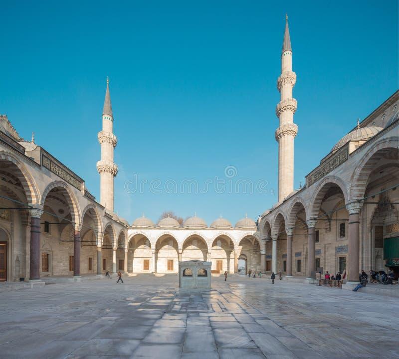 Suleymaniemoskee royalty-vrije stock afbeeldingen