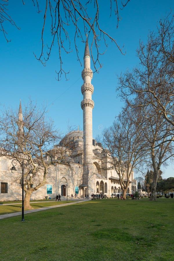 Suleymaniemoskee royalty-vrije stock fotografie