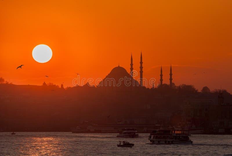 Suleymaniemoskee royalty-vrije stock foto