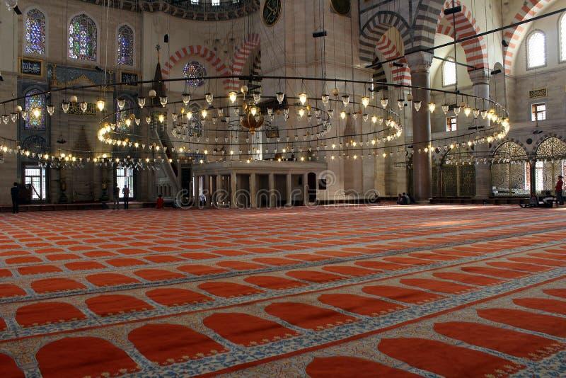 Suleymaniemoskee, Istanboel royalty-vrije stock afbeeldingen