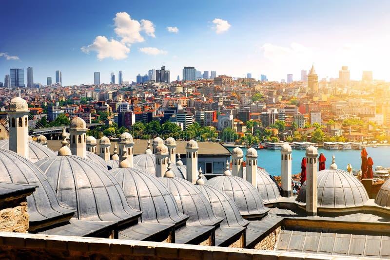 suleymaniye мечети istanbul стоковые изображения