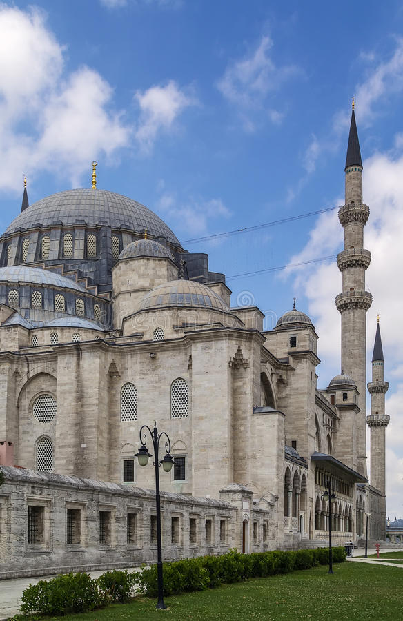 suleymaniye мечети istanbul стоковые изображения rf
