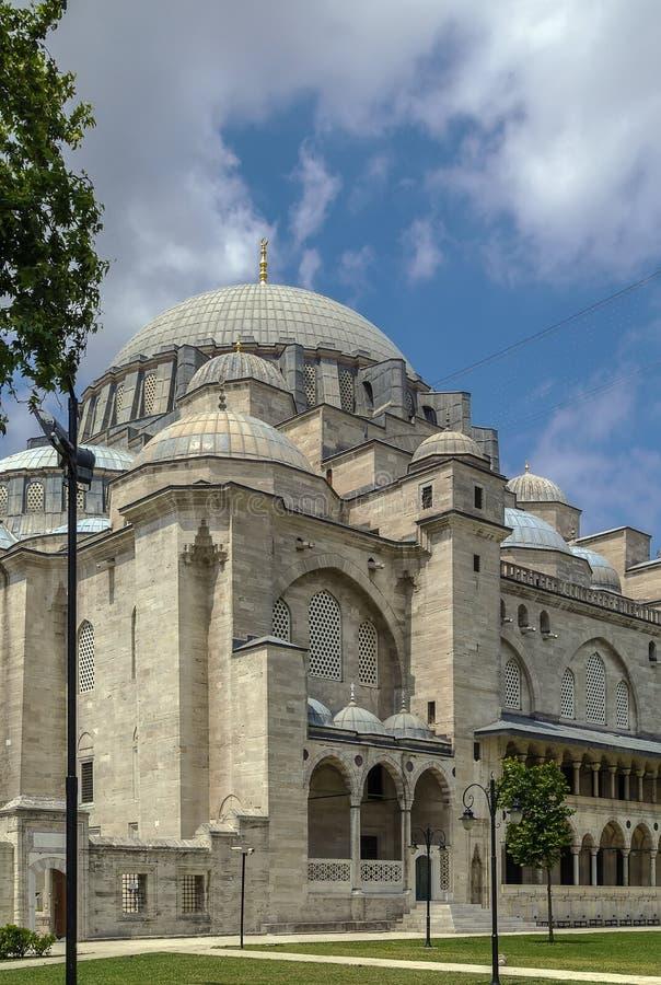 suleymaniye мечети istanbul стоковое фото rf