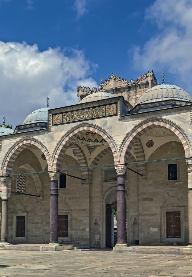 suleymaniye мечети istanbul стоковое изображение rf