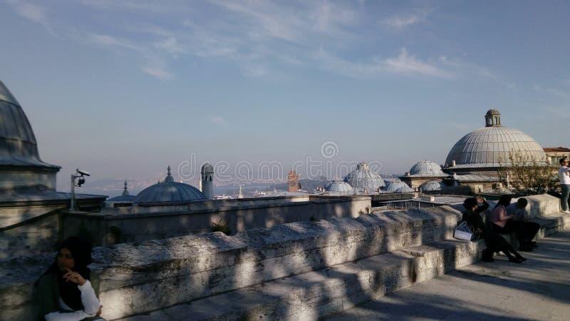 Suleymaniye Camii lizenzfreie stockfotos